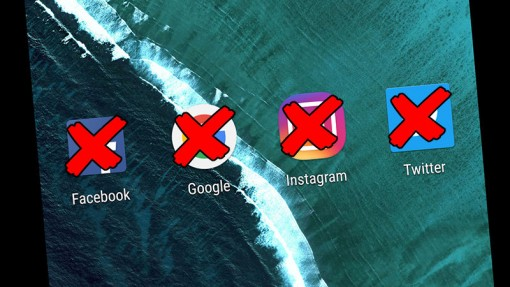 Internet-tilien poistaminen