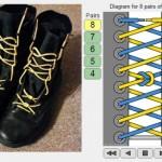 50 eri tapaa pujottaa kengännauhat – Biljoona matemaattista mahdollisuutta!