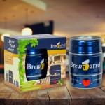 Laita pystyyn helppo kotipanimo, Brewbarrel -lageria, vehnäolutta tai IPAa