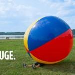 Jättimäinen rantapallo on kesän suosikki?