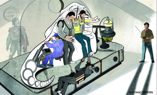 Jabban operointia