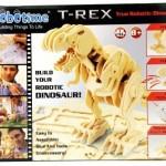 Puinen koottava radio-ohjattava Tyrannosaurus