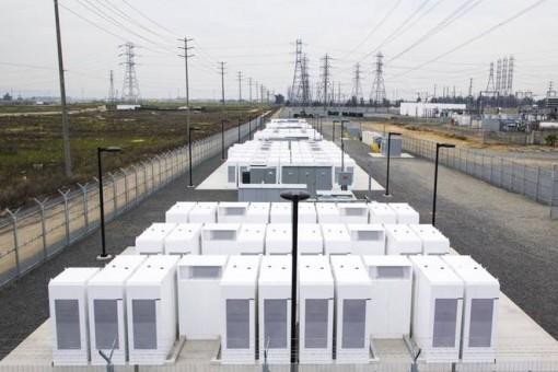 Tesla Powerpack-akkufarmi