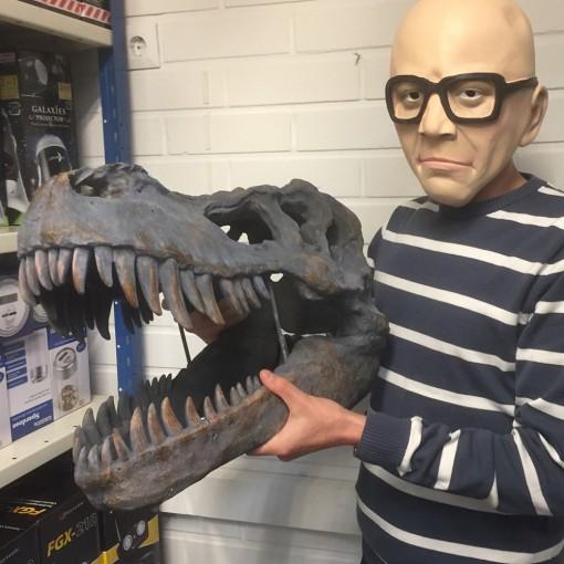 Tyrannosaurus-Rex -pääkallo