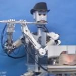 Kykeneekö robotti soittamaan viulua tai huilua?