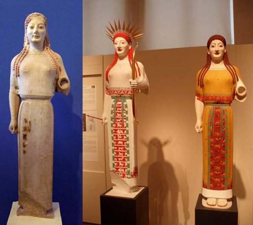 Peplos Kore, 530 eaa