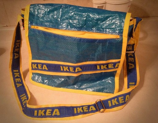 IKEA hipsteri olkalaukku