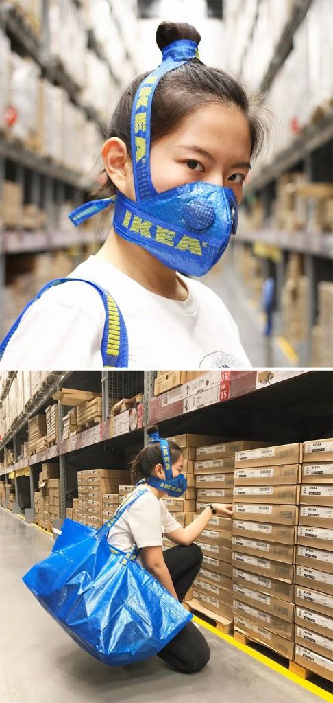 IKEA hengityssuojain