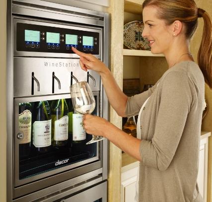 Discovery WineStation käytössä