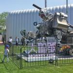 Kiinan jättiläis-taistelurobotti Monkey King (international MegaBots Giant Fighting Robot Sports League)