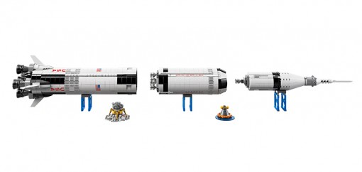 Nasa Saturn V Lego