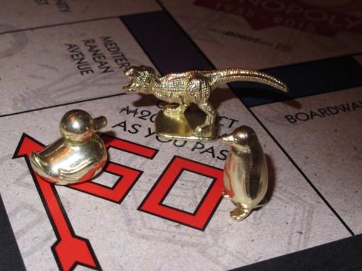 Monopoli uudet nappulat