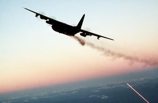AC-130 'Spooky', tykkitulta vuonna 1988