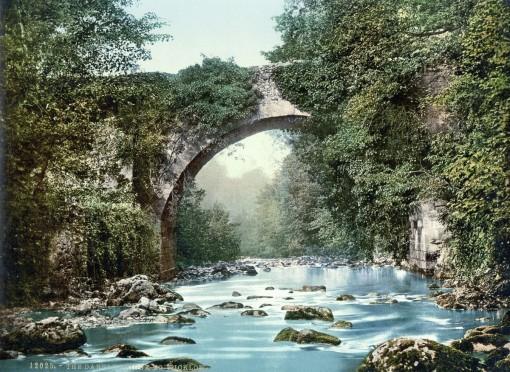 Dargle Bridge, County Wicklow.