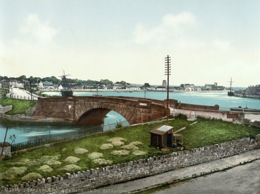 Dungarvan Bridge and Harbor, County Waterford.