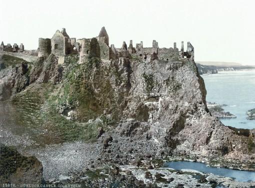 Dunluce Castle, County Antrim.