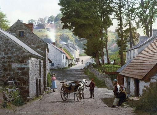 Glenoe Village, County Antrim.