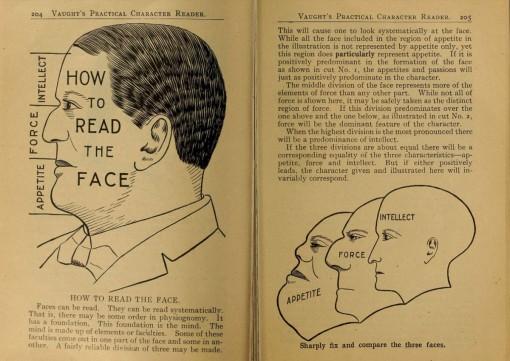 Kasvonprofiilin lukeminen