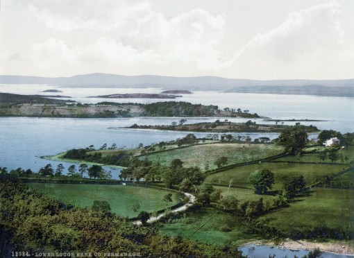 Lower Lough Erne, County Fermanagh.