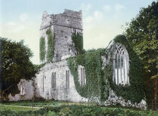 Muckross Abbey, Killarney, County Kerry.