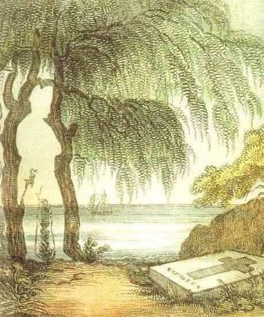 Napoleonin haamu seisoo haudallaan.