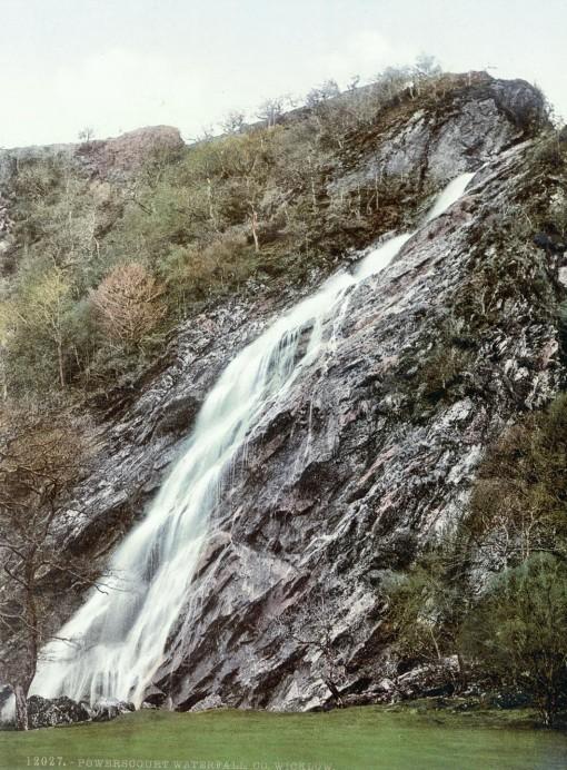 Powerscourt Waterfall, County Wicklow.