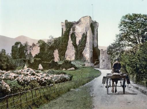 Ross Castle, Killarney, County Kerry.