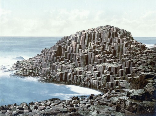 The Honeycombs, Giant's Causeway, County Antrim.