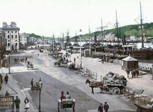 The quays, Waterford, County Waterford.