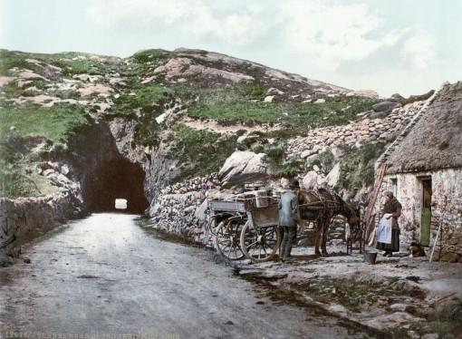 Tunnel near Glengarriff, County Cork.