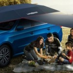 Lanmodo on automaattinen kauko-ohjattava auton teltta