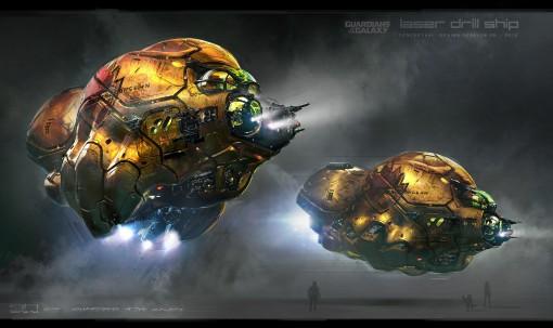 """""""Laser drill ship"""""""