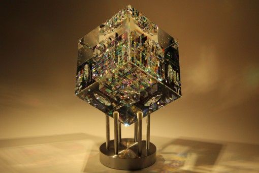 Spectrum Cube Crystal