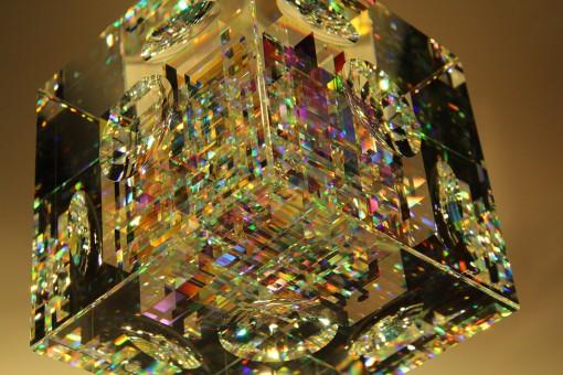 Spectrum Cube Crystal yksityiskohta