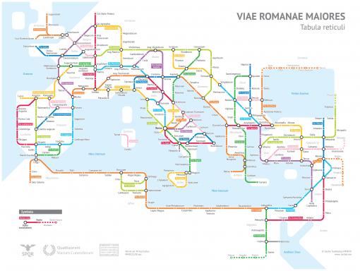 Sasha Trubetskoyn Rooman kartta vuodelta 125 metrokartaksi muunnettuna! (klikkaa kuvaa nähdäksesi se suurempana)
