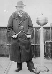 Kuuluisa saksalainen varpumies, Otto Edler von Graeve 1900-luvun alussa