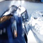 Subaru ajoi ralliauton alas rattikelkkarataa Sveitsin alpeilla, hurjalta näyttää videolla!