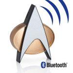 Star Trek The Next Generation ComBadge toimii puhelimen kanssa kuten tv-sarjassa