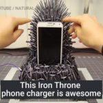 Tee-se-itse Game of Thrones – Iron Throne – valtaistuin – puhelinlaturi!