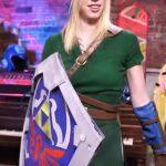 Tee-se-itse Zelda Link -cosplay asu tytölle tai naiselle, kaunis lopputulos!