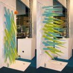 Taiteilija keksi piikikkään seinän, joka työntää pois suihkusta kun aikaa on kulunut 4 minuuttia