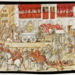 Karusellin historia, alku hevosturnajaisissa, josta hevosajelu on päätynyt kansan huviksi