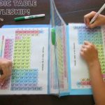 Laivanupotuspeliä jaksollisen järjestelmän alkuainetaulukolla, helppo tapa oppia alkuaineet!