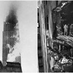 Vuoden 1945 pommikoneen törmäys Empire State Buildingiin sai ihmiset järkyttymään
