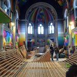 Espanjalainen kirkko muunnettiin skeittipuistoksi ja seinät maalattiin uusiksi