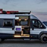 Fiat Ducato Camper Van tuo luksusta matkailuautoiluun
