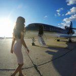 Venäläinen Private Jet Studio vuokraa maassa olevaa yksityislentokonetta Instagram-kuvauksiin