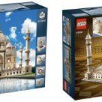Legon Taj Mahal -rakennussarjassa on yli 5900 osaa