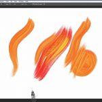 Edvard Munchin pensselit mallinnettiin Photoshop-siveltimiksi yhteistyössä Munch-museon kanssa