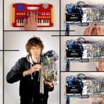 Wintergatan ja MODULIN – Modulaarinen viuluntyyppinen syntetisaattori – MEGA MAN 2